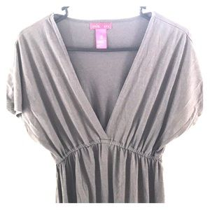 Dresses & Skirts - 『 plunging neckline dress 』